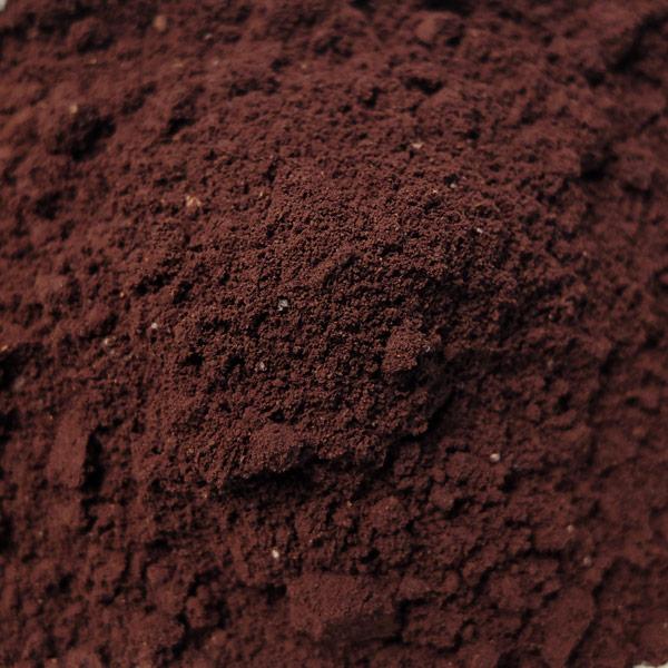 So sieht das Kaffeepulver des Yemen Mokka aus.